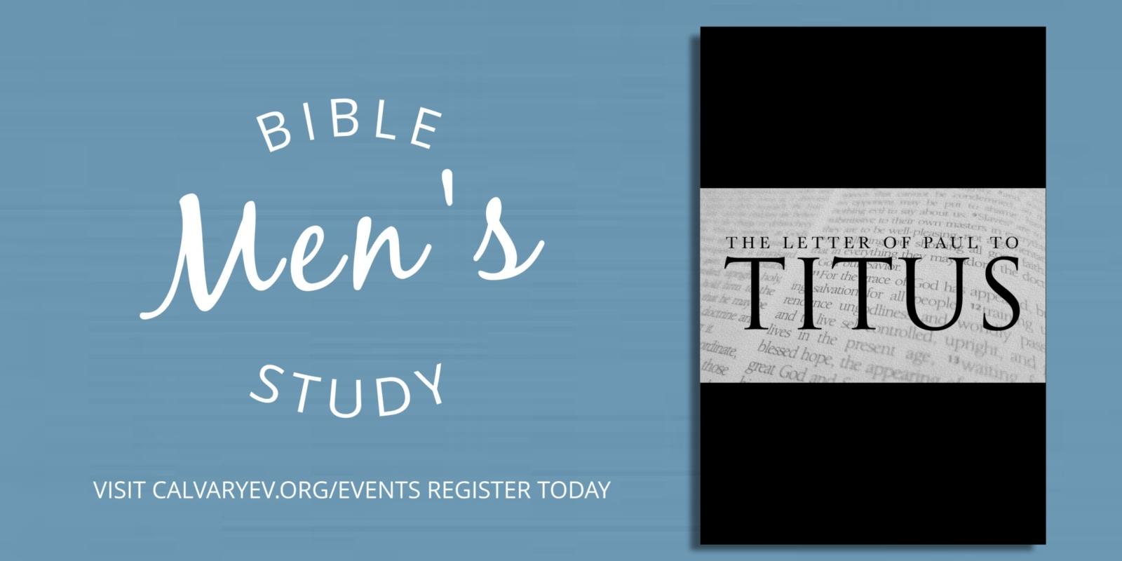 Mens bible study - gilbert az church